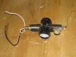 180 degree Double Light Socket