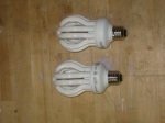 Full-Spectrum 100W equiv. CFL bulbs